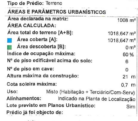 Dados_Planta_Localização